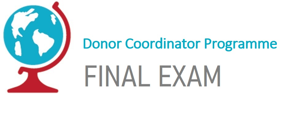 Donor Coordinator Basic Final Exam